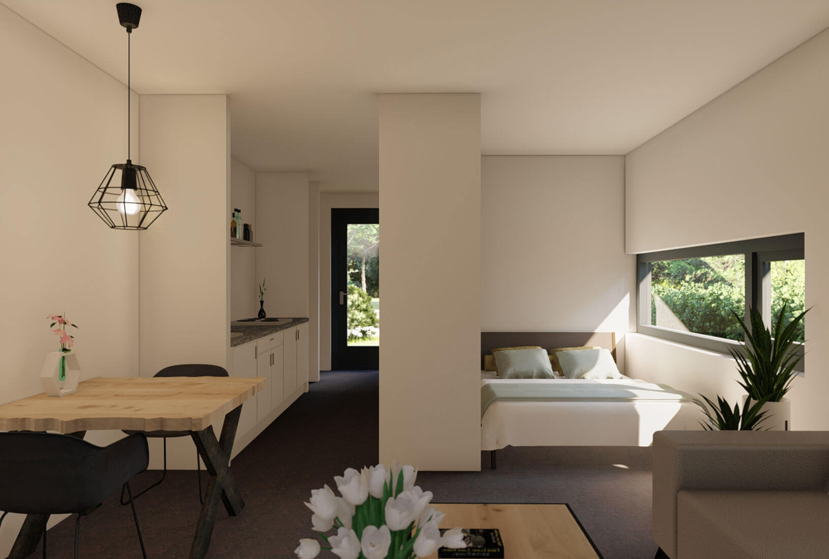 Tiny House_Type Arizona_Interieur_Innoblox