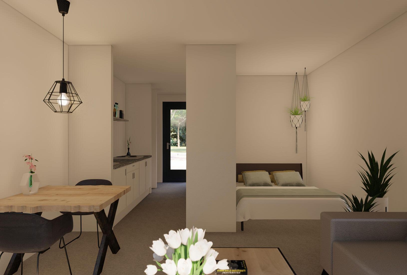 Tiny House_Type Florida_Interieur_Innoblox