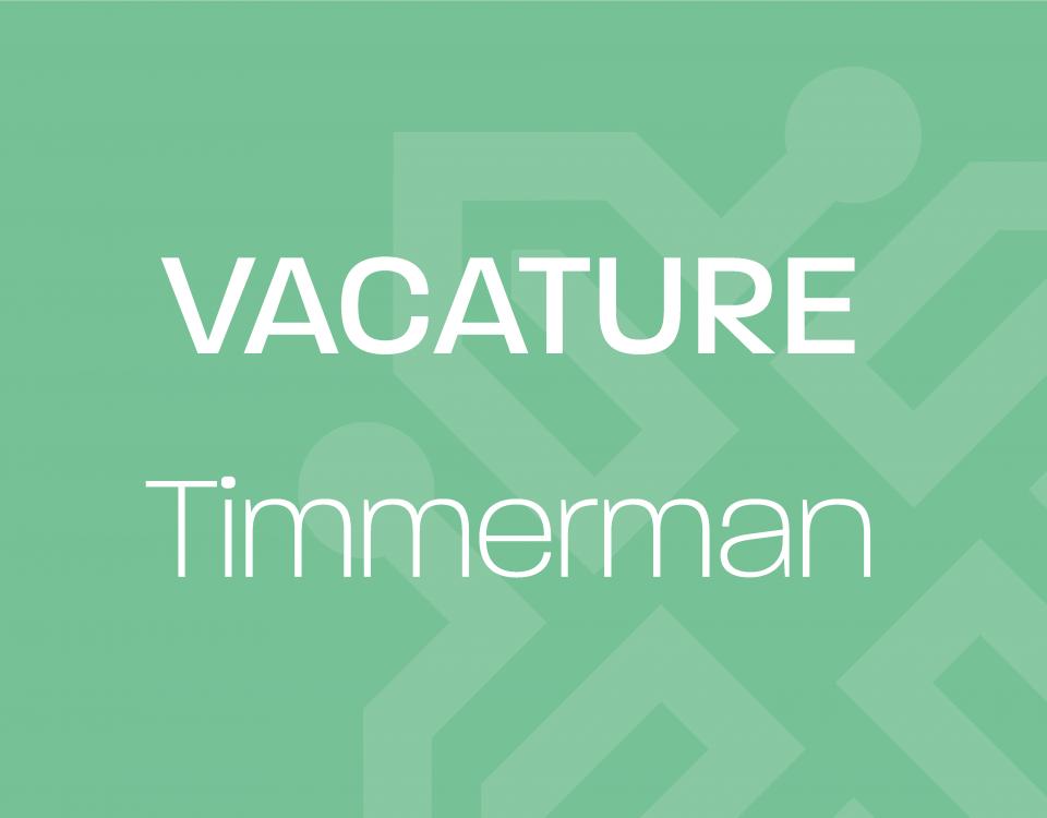 Vacature_Timmerman